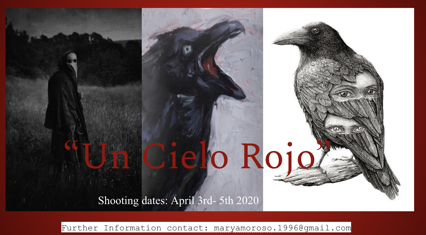 """Un Cielo Rojo""…A Red Sky (Horro/Magical Realism short)"